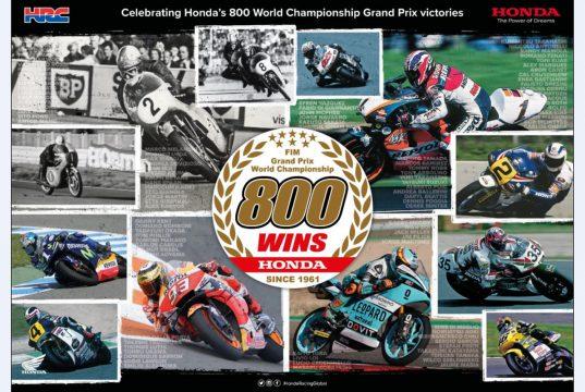 Honda 800 üncü Grand Prix Zaferi