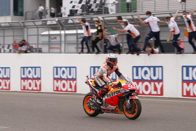 Honda MotoGP Almanya_Marc Marquez
